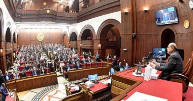 مجلس الشيوخ يوافق من حيث المبدأ على قانون الصكوك السيادية.. صور