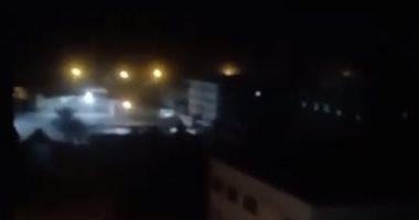 فيديو.. غارات جوية إسرائيلية عنيفة تستهدف قطاع غزة