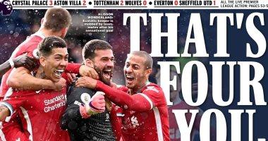 أليسون بيكر حارس ليفربول حديث صحف إنجلترا بعد هدفه الاستثنائى ضد بروميتش..صور