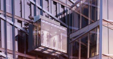 مصعد كامل من الزجاج.. تجربة فريدة وإطلالة مثيرة على ارتفاع 369 مترا.. ألبوم صور