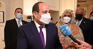 """الرئيس السيسى من باريس : لا بد من إنهاء العنف بشكل عاجل فى الأراضى الفلسطينية.. """"فيديو"""""""