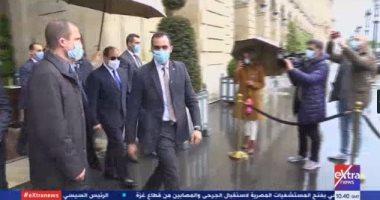 الرئيس السيسي يصل قصر الإليزيه لعقد قمة مع نظيره الفرنسي إيمانويل ماكرون