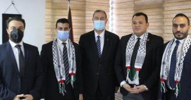 سفير فلسطين بمصر يطلع نواب تنسيقية شباب الأحزاب والسياسيين على تطورات العدوان الغاشم