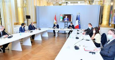 الرئيس السيسى خلال زيارته فرنسا