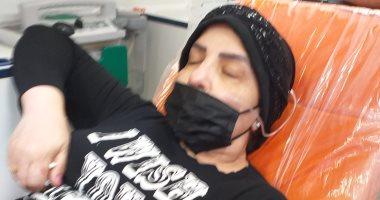 نقل الفنانة فاطمة الكاشف للعناية المركزة بعد نقص الأكسجين متأثرة بكورونا