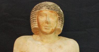 """""""قطعة الشهر"""" بالمتحف المصرى.. قصة عنخ رع الثانى رئيس أطباء القصر الملكى"""