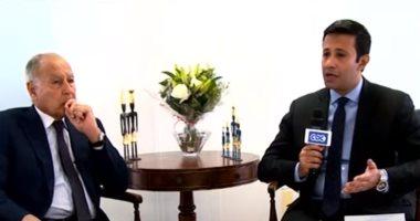 أحمد أبو الغيط: مصر دعمت جهود إسقاط الديون عن السودان
