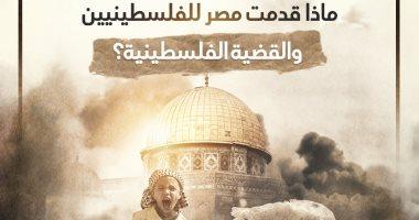 مصر والقضية الفلسطينية.. مسيرة دعم