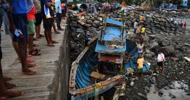 مصرع 33 شخصا وفقدان أكثر من 90 آخرين بسبب إعصار تاوكتاى بالهند.. فيديو وصور