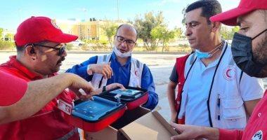 الهلال الأحمر المصرى: قدمنا 3 شحنات من المساعدات الطبية لأهالى غزة