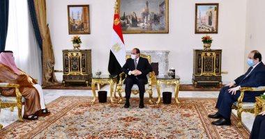 السعودية نيوز |                                              الرئيس السيسي يؤكد لتركى آل الشيخ: الشراكة مع السعودية استراتيجية وبناءة