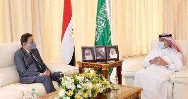 السعودية نيوز |                                              رئيس مجلس الشورى السعودى خلال لقائه كرم جبر:  السيسى قدم لمصر والمنطقة كلها إنجازات غير مسبوقة