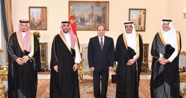 السعودية نيوز |                                              الرئيس السيسى لوزير الرياضة السعودى: مصر تولى اهتماما كبيرا بالنشء والشباب