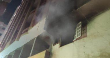 إصابة 6 أشخاص فى حريق بمسكن في قرية بالشرقية