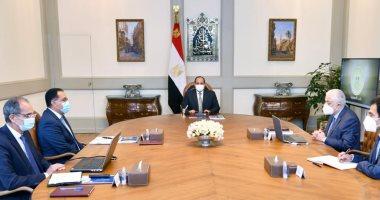 الرئيس السيسى يوجه بإتاحة النظام الورقى بجانب الإلكترونى بامتحانات الثانوية العامة