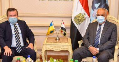 العربية للتصنيع تستقبل سفير أوكرانيا لبحث زيادة نسب الشراكة