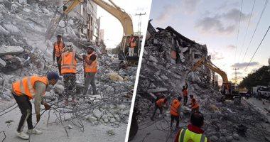 شركة مصر سيناء: الأطقم الهندسية فى غزة تعمل على تهيئة المجال لإعادة الاعمار