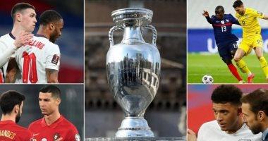 """يورو 2020.. تعرف على مجموعات ومواعيد المباريات والقنوات الناقلة """"إنفو جراف"""""""