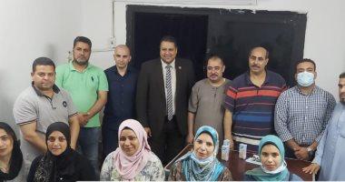 محمد إسماعيل نائب تنسيقية الأحزاب يواصل جولاته للاستماع لمطالب أهالى دائرته