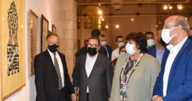 وزيرة الثقافة تسلم جوائز ملتقى الخط العربى السادس وتعلن مضاعفتها فى الدورة المقبلة