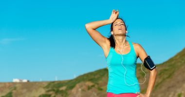 What does long-distance running for 20 minutes a day do to your health?