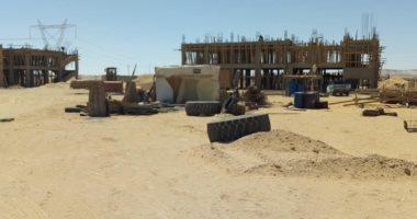 إنشاء مدرسة صناعية و25 منزلا ومحطة مياه بوسط سيناء.. اعرف التفاصيل