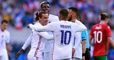 منتخب فرنسا يختتم تحضيراته لـ يورو 2020  بثلاثية ضد بلغاريا
