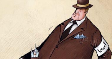 كاريكاتير اليوم.. أوروبا تواجه كورونا بسرعة التطعيم ضد الفيروس
