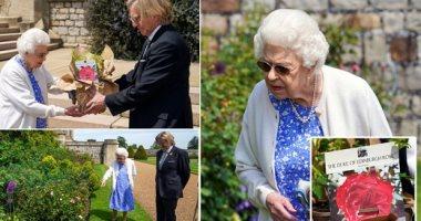 الملكة إليزابيث الثانية تحتفل بعيد الميلاد الـ100 لزوجها الراحل.. ألبوم صور