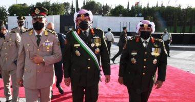 وزير الدفاع يعود لأرض الوطن عقب حضوره مراسم الاحتفال بالمئوية الأولى لتأسيس الأردن