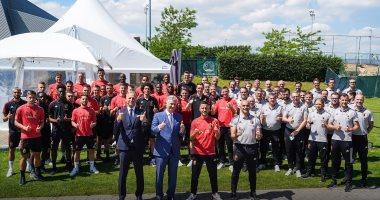 يورو 2020.. ملك بلجيكا يدعم منتخب بلاده قبل المشاركة في أمم أوروبا