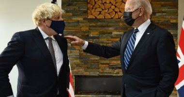بايدن وجونسون يوقعان على الميثاق الأطلسى الجديد.. تعرف على بنوده