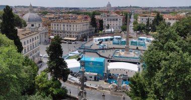 يورو 2020.. روما تتزين قبل المواجهة الافتتاحية بين إيطاليا وتركيا