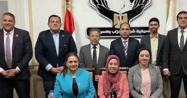 نواب تنسيقية شباب الأحزاب يلتقون بوفد من نقابة الأطباء