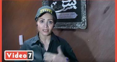 """الفتاة الخارقة.. أول بودى جارد مصرية بقوة 10 رجال.. وتدرب كمال الأجسام """"فيديو"""""""