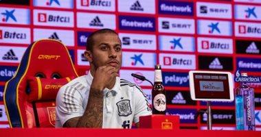 يورو 2020.. تياجو ألكانتارا: نكافح من أجل تحقيق أهدافنا فى البطولة