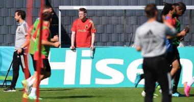 منتخب بلجيكا يعلن غياب دى بروين وفيتسيل عن مواجهة روسيا فى يورو 2020