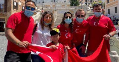 يورو 2020.. جماهير تركيا تزحف إلى روما قبل مواجهة إيطاليا فى الافتتاح