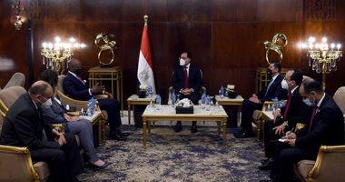 رئيس الوزراء يلتقى أمين عام سكرتارية منطقة التجارة الحرة القارية الأفريقية