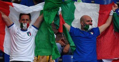 """تركيا ضد إيطاليا.. الجماهير تزين المدرجات فى افتتاح يورو 2020 """"صور"""""""