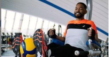 تدريبات قاسية.. ويل سميث يكشف روتينه فى صالة الألعاب الرياضية لاستعادة لياقته