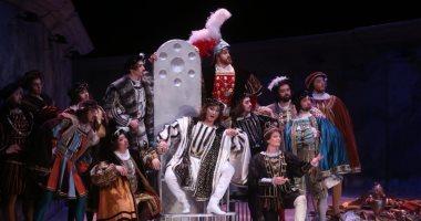 فرقة سان بطرسبرج الروسية تقدم عرض أوبرا ريجوليتو على المسرح الكبير.. صور