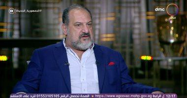 """خالد الصاوى لـ رامى رضوان: لقب """"الفنانون خالد الصاوى"""" الأقرب لقلبى.. صور"""