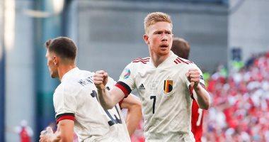 يورو 2020.. دى بروين يسجل هدف منتخب بلجيكا الثانى ضد الدنمارك.. فيديو
