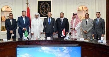 السعودية نيوز                                                وزير الإسكان يلتقى مستثمرين سعوديين لبحث فرص الاستثمار والتعاون المشترك