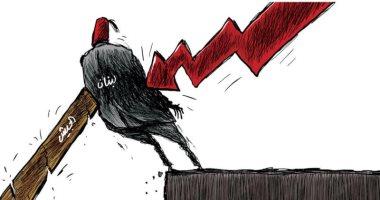 السعودية نيوز |                                              لبنان منحصرة بين أزمة اقتصادية قد تهوى بها وبين جيش يسندها فى كاريكاتير سعودى