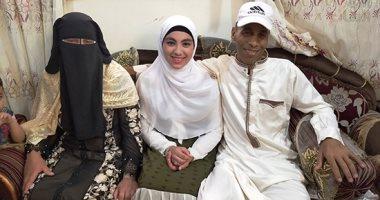 سارة أسامة كمال الأولى مكرر في الشهادة الاعدادية بالغربية