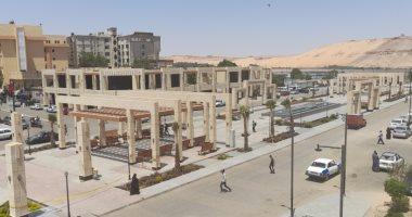 مشروع تطوير واجهة مدينة أسوان السياحية