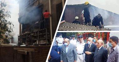 الحماية المدنية أخمدت النيران