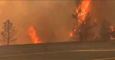 اليونان: طائرات مكافحة الحرائق تستأنف عملياتها لمواجهة حريق الغابات بأثينا